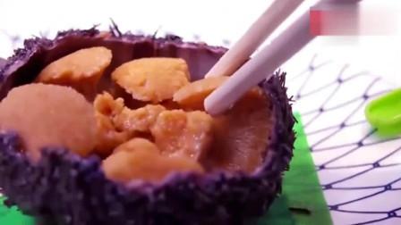 舌尖上的日本, 生吃海胆! 厉害了, 保证让你吃了还想吃