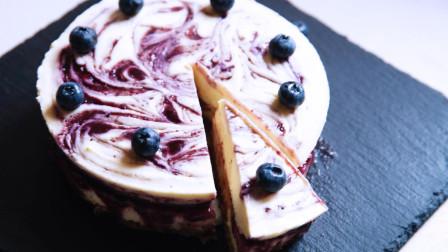 美味的蓝莓芝士蛋糕的做法2