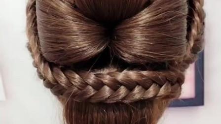秀禾新娘发型的教程