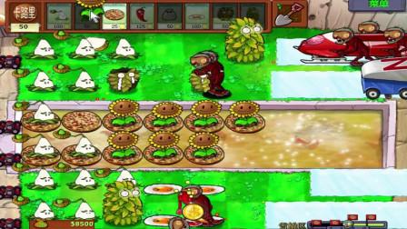 食物版植物大战僵尸第69期, 新手福音雪橇区攻略