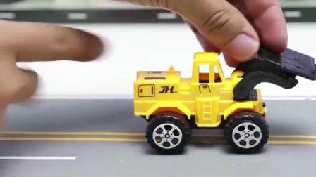 噢! 超炫酷的工程车队工程车亲子益智玩具视频分享
