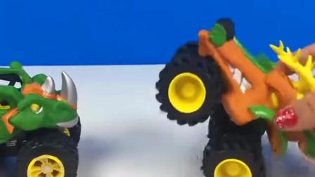 你会玩这样的小车车吗工程车亲子益智玩具视频分享
