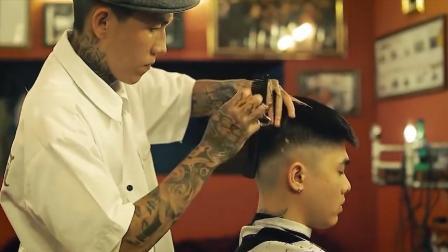 非常精神的一款男生短发发型, 帅气十足又容易打理!