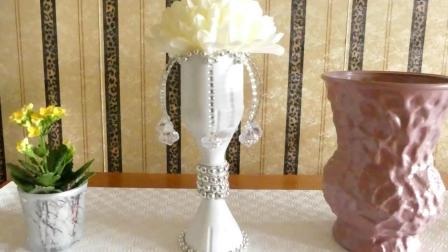 变废为宝系列, 欧式台灯的制作方法, 材料就是普通的塑料瓶!