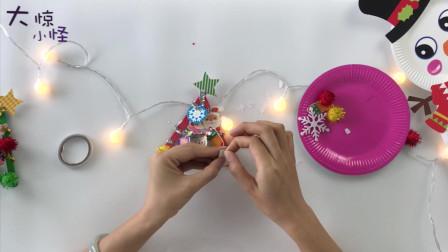 什么? 用冰棒棍做圣诞树!