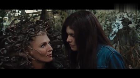 片名《波西.杰克逊与神火之盗》, 一部十分好看的奇幻电影, 值得推荐