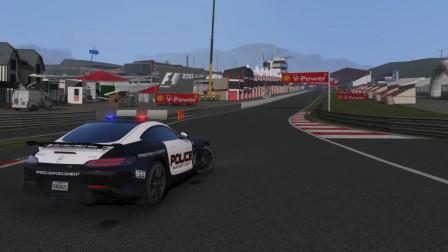 [琴爷]GTA5MOD: 梅赛德斯奔驰! AMG GTR游玩超大专业房车赛道! 超帅车衣!