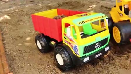 噢! 好厉害的挖掘机车工程车亲子益智玩具视频分享