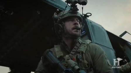 恐怖份子海豹突击队, 黑鹰直升机火力支援, 加特林扫射敌人