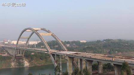 广安第二条云轨吊装作业, 经开区奎阁大桥建设近况