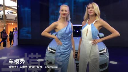 ⎡车模秀⎦沃尔沃展台车模走秀.2018广州车展