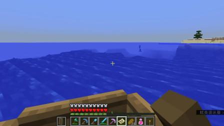 我的世界杰尼哥生存创造游戏合集 第一季 我的世界原版生存25 探险秘封的海底神殿!