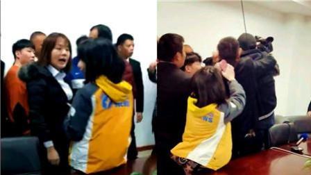 记者采访房地产公司遭围殴! 12人被刑拘