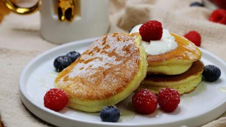 新晋网红甜品舒芙蕾松饼, 在家用平底锅就能做, 再也不用排长队