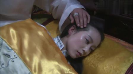 步步惊心: 若曦在床上睡的好好的, 到了晚上, 高冷皇上偷偷来了!