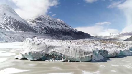 西藏航拍之梅里雪山 来古冰川