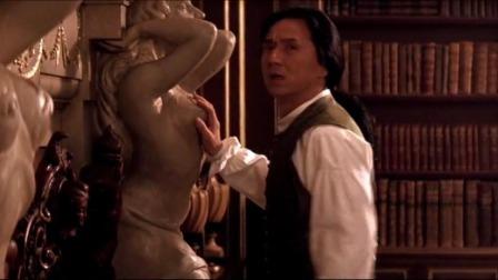 男子大闹黄金屋,无意乱摸触碰到密室开关,动作表情太可爱了