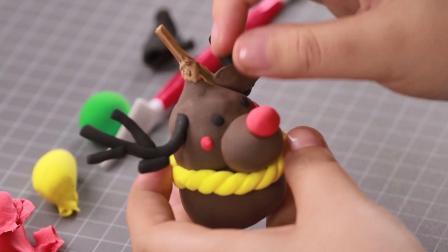圣诞主题亲子手工: 小葫芦也能变身酷酷的圣诞小驯鹿