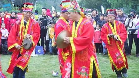上林非物质文化遗产《踩花灯》