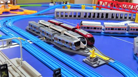 超大型的托马斯小火车城市轨道交通套装玩具