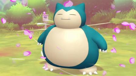 【逍遥小枫】捕捉卡比兽, 这个胖子好难抓啊! | 精灵宝可梦Let's GO #16