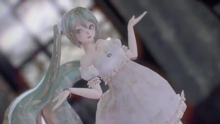 初音未来这身装扮太美了, 我们公主殿下果然是小仙女