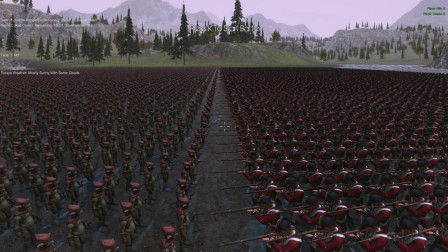 史诗战争模拟器: 80世纪10000士兵对抗10000地精弓箭手开局就震撼了