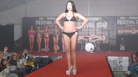 Barbarano Vicentino x洛杉矶比基尼泳装秀, 大码胖超模, 别样风采!