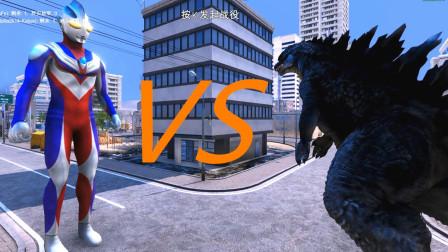 【虾米】奥特曼VS哥斯拉VS两万只霸王龙! 史诗战争模拟器02