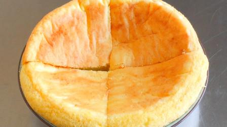 小米蛋糕不用去买了, 教你在家用电饭煲做, 蓬松暄软, 比面包好吃