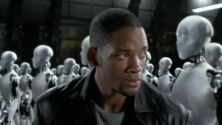 未来机器人也为自己而活, 人类不得已要围剿它们, 惊恐!