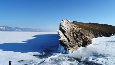 航拍贝加尔湖 欧亚大陆最大淡水湖, 曾是中国短暂控制的地盘