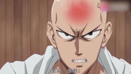 一拳超人: 老师头都快要被锤烂了, 第一次看到这样的老师!
