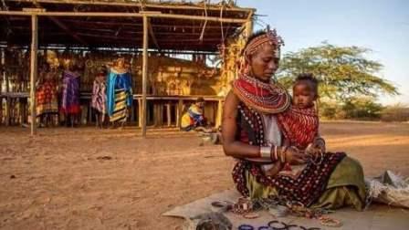 """非洲藏着一个""""女儿村"""" 25年来从不允许男人踏入"""