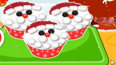 培乐多彩泥圣诞老人纸杯蛋糕儿童玩具.mp4