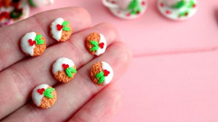 微世界DIY: 微型圣诞饼干