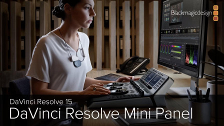 DaVinci Resolve 15 - Mini Panel 调色台的使用