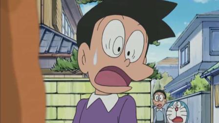 哆啦A梦: 大雄和静香胖虎小夫为了吃爆米花也是拼了.