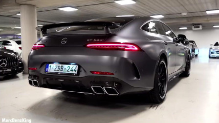 2019年梅赛德斯AMG GT4车门轿跑车_ GT63S全面回顾4MATIC +声音排气Int
