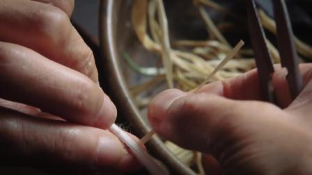 日本匠人手工织布 每个步骤都极其细致 大家觉得怎么样
