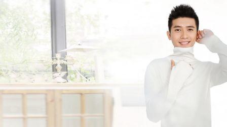 青年舞蹈家邓斌原创作品《举起你的双手拍一拍好吗》背面演示