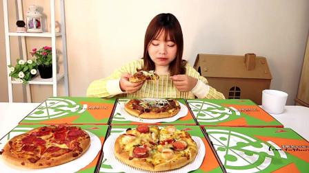 大胃王余多多: 测评必胜客的6款披萨, 吃完还想吃