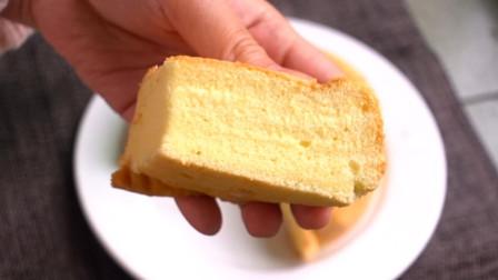 家常版6寸戚风蛋糕的做法, 不破皮, 组织松软又细腻