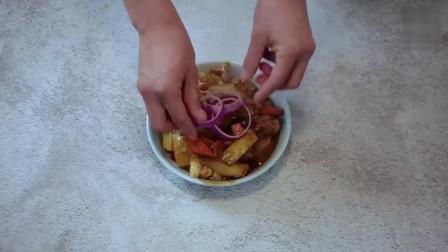 咖喱鸡肉的美味做法, 一学就会, 真是太好吃了