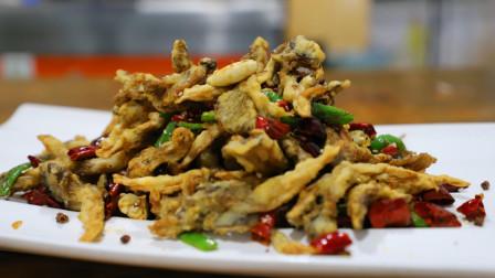 干炸蘑菇不要先焯水, 鹏厨教你这样做酥脆可口, 风味独特
