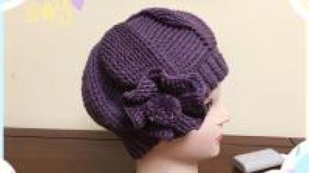 亲手钩一顶帽子送给妈妈, 浪漫相约时尚女帽教程, 比买的更漂亮哦! (下)