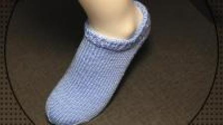 我要学编织, 教你如何织一双漂亮的船袜, 想学的来吧! (一)