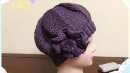 亲手钩一顶帽子送给妈妈, 浪漫相约时尚女帽教程, 比买的更漂亮哦! (上)