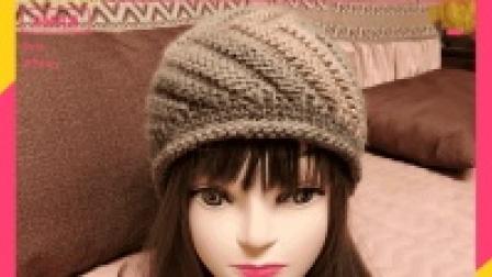 织帽的季节, 与我一起织美帽, 四片式螺旋帽教程来袭(二)