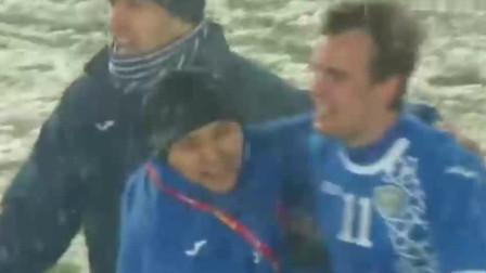 被乌兹补时绝杀赛后: 越南全国都哭了! 球员呆若木鸡+跪地不起